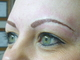 After Hair Stroke brow treatment (after 1 week the appearance will be softer and lighter)