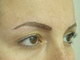 After Hair Stroke brow treatment (after 1 week the appearance will be 40% softer and lighter)