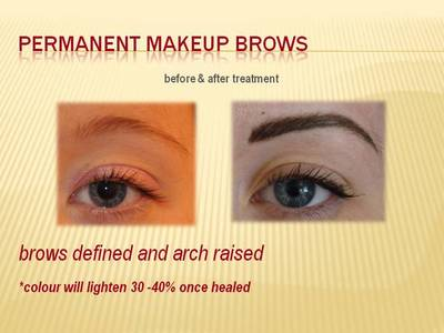 Permanent Makeup brows - Hairline stroke effect