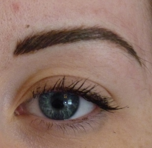 After 3D Hairstroke Brow